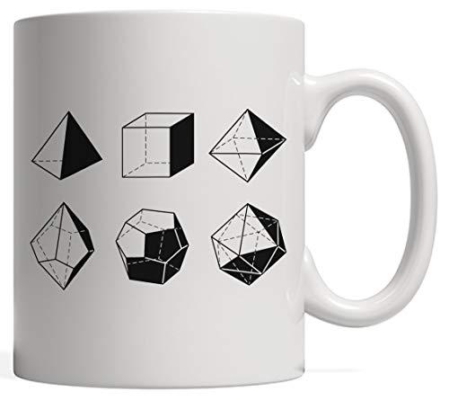 Cerámica Copa,d20 Dice Evolution Juego de rol de regalo | Stranger Game Master Mug para tus Campañas de jugador de Tableros Dragones