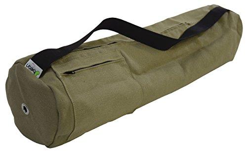 Yoga Mat Bag 100% Hanf, groß oder extra groß (passend für alle Jade und Manduka Matten) von Bean productstm Made in USA, Cactus -