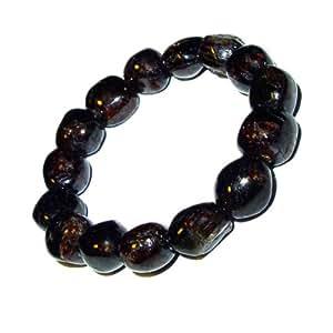 Granat Armband ca. 12mm Nuggets ein schönes Edelsteinarmband elastisch aufgezogen.(2872)