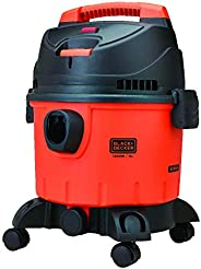 BLACK+DECKER WDBD15 15-Litre, 1400 Watt, 16 KPa High Suction Wet and Dry Vacuum Cleaner and Blower with HEPA F