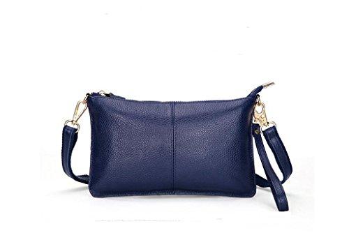 tutta la signora primo strato di messenger bag in pelle, borsa a mano, sacchetto di sera, borsa casual Po Lan color