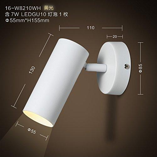 Lilamins Kreative LED Wand Lampe Schlafzimmer Wand Lampe über Der Einfahrt  Flurbeleuchtung, W 8210