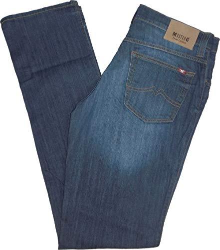 MUSTANG Herren Straight Jeans Big Sur Blau (Medium Middle 583) W40/L34...