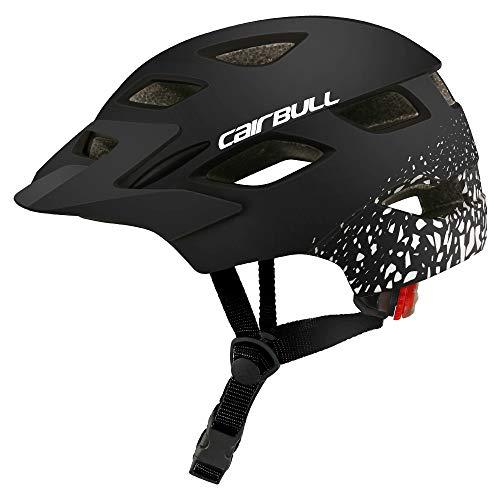 Amyove Casco de protección para niños Casco de montaña Bicicleta de Carretera Rueda de Equilibrio...