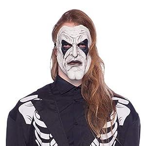 Folat Máscara de látex 23822 Halloween Jester Unisex - Adulto multicolor