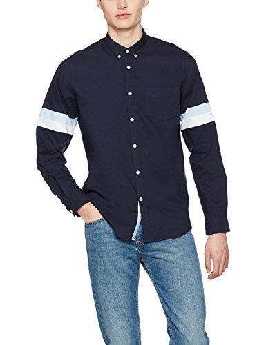 FIND Camisa Óxfordde Corte Entallado Para Hombre FIND