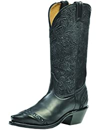 Botas de los EE.UU.-Botas, botas de cowboy BO-1656-50-C (pie normal) para mujer, color negro