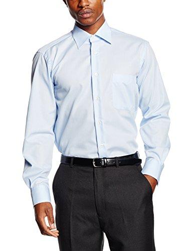 BlueBlack Herren Businesshemd Leandro Blau (hellblau 14)
