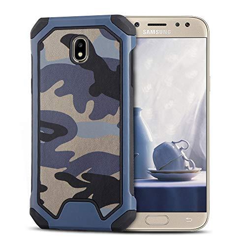 2f9a14f09f4 MOEVN Armor Funda para Samsung J7 2017, Galaxy J7 2017 Carcasa Camuflaje PC  + TPU
