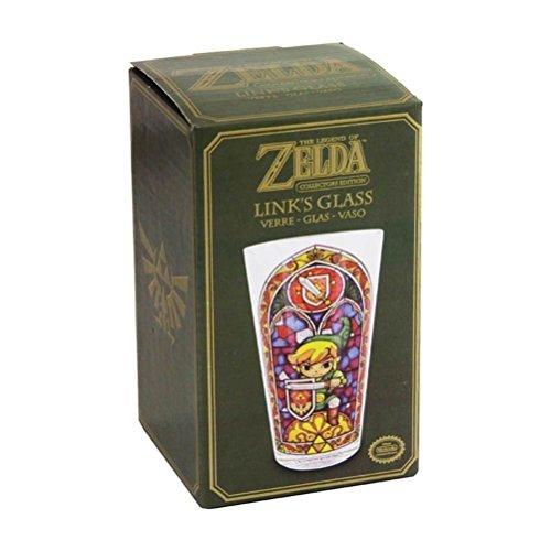 Zelda Cristal Legend Of Zelda Wind Waker Cristal Enlace Taza Link 's Glass Nintendo vasos 0,5L