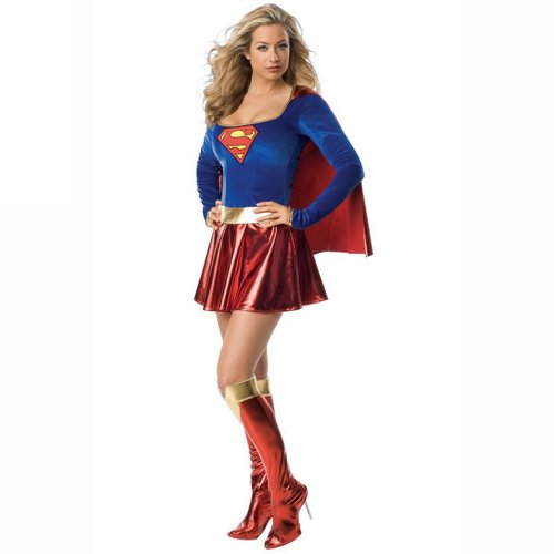 Freefisher Damen Sexy Supergirl ()