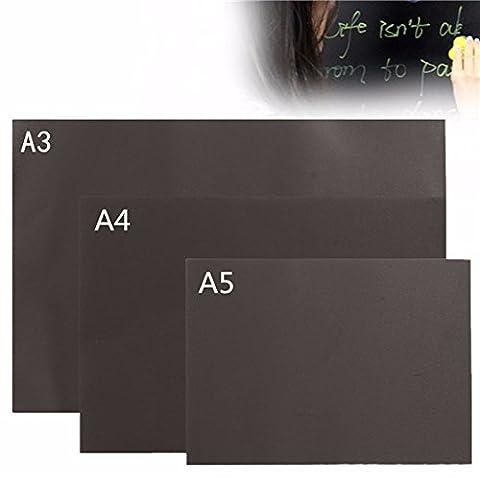 Tutoy A3 A4 A5 Chalkboard Blackboard Magnetic Peint À La Main Personnalisé Memo Wall Sticker -A5