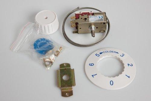 daniplus© Thermostat Alternativ für Ranco K59H1319 passend für ***Kühlschränke mit automatischer Abtauung von AEG, Quelle -