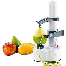 Great Ideas eléctrica cocina Automatic Pelador de patatas para verduras frutas Apple. Fácil para la artritis.
