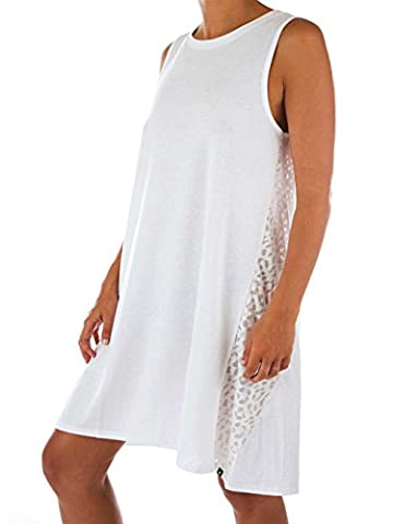 Robe Hurley Leopard Burnout - White