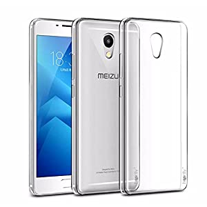 Heartly Meizu M5 Note Back Cover Transparent Clear Crystal Hot Thin Hard Case - Crystal View