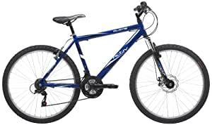 Activ by Raleigh Mens Alloy Mountain Bike - Blue, 26-inch Wheel, 18 Inch Frame