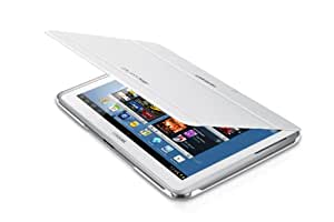 Samsung Leather Effect Flip Cover Case for Samsung Galaxy Note 10.1 inch - White