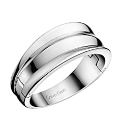 Idea Regalo - Calvin Klein Bangle Donna acciaio_inossidabile - KJ4SMD00010M