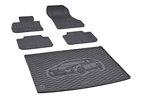 Passgenaue Kofferraumwanne und Gummifußmatten geeignet für BMW X1 F48 ab 2016