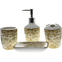Amazon.es  juegos de jabonera dispensador de jabón porta cepillos beaf47b2e1b4