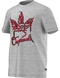 Adidas t-shirt pour homme avec trèfle laces 1
