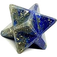 merkaba-stern Reiki Energiegeladen Lapis Lazuli Natürlicher Kristall Chakra Heilung preisvergleich bei billige-tabletten.eu