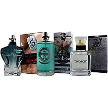 Perfumes (3) Pack Edge Man para Hombre. Body Language Sensual 100ml + Dolce Uomo 100 ml + Male Erotics 100ml. Tres Regalos al precio de uno.