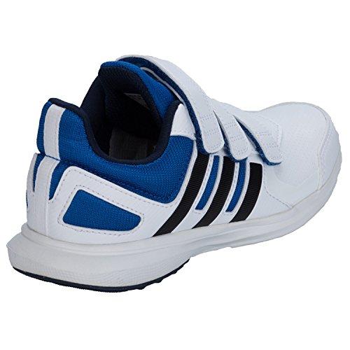 adidas , Jungen Leichtathletikschuhe  Schwarz Wei�-Blau