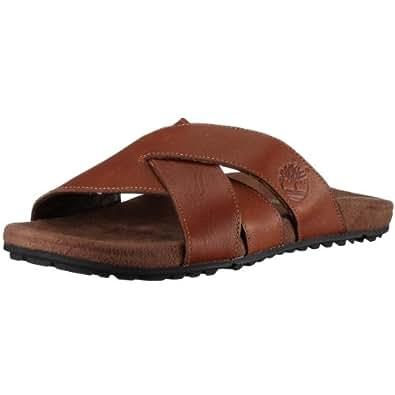 Timberland Earthkeeper Zig Zag Sandals FTM X Band 21526, Sandales mode homme - Marron, 43 EU