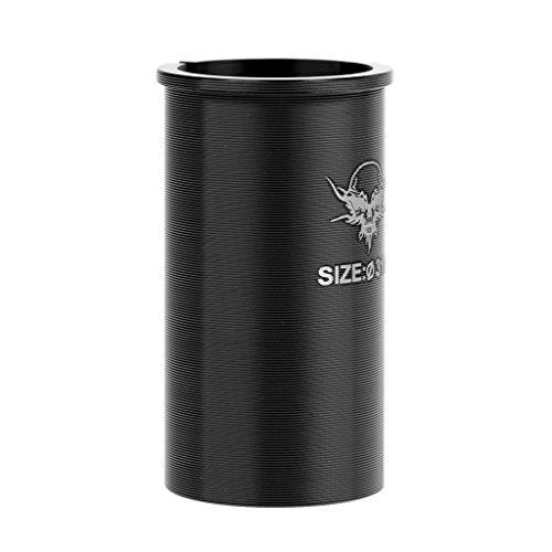 Baoblaze Fahrrad Sattelstütze-Adapter 27,2mm auf 31,6/30.4/30.8mm Sattel-Stütze Rohr Shim Adapter Farbe Schwarz - Durchmesser 30.4mm / 1.20inch