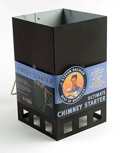 Steven Raichlen Ultimate Grillstarter, quadratisch, schwarz, 18.29 x 30.3 x 30.4 cm, SR8041