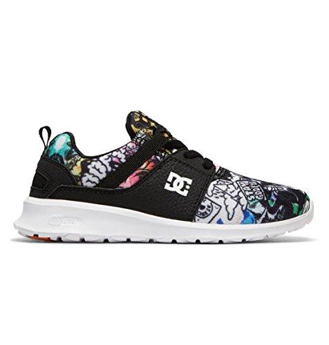 DC Shoes Jungen Heathrow SP Sneaker, Mehrfarbig (Multi 1 Mu1), 35 EU (Shoes Dc Sneakers Athletic)