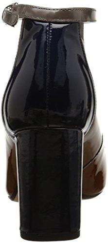 Clarks Braun Candy Pumps cognac Damen Knöchelriemchen Gabriel HRrq4XZW5H