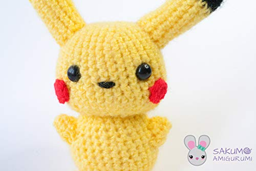 Pikachu Medium Pokemon Amigurumi Plüsch -