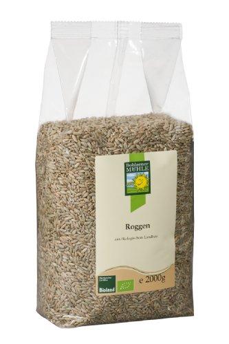 Bohlsener Mühle Bio Roggen, 4er Pack (4 x 2 kg)