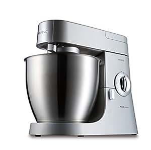 Kenwood KMM770 Kitchen Machine, 1200 W, 6.7 Litri, Alluminio, Acciaio Inossidabile, Argento