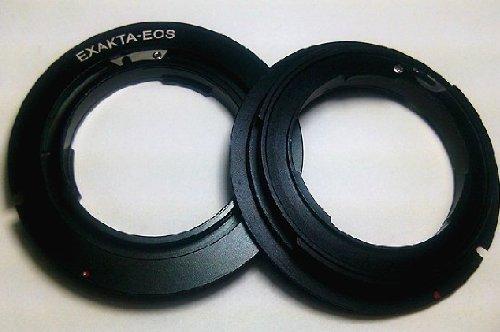 Exakta für Objektivring von der C ¨ ¢ Mara R ¨ ¦ Flex Digital EOS Montage-Adapter