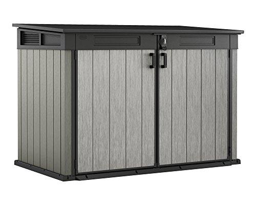 Ondis24 Grande Store XXL aus Duotec Gartenbox Gerätebox abschließbar Mülltonnenbox für 3...
