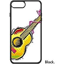 DIYthinker Pintada a Mano de Guitarra Instrumento Mexicon Cultura Elemento Ilustración para iPhone 7 más Las