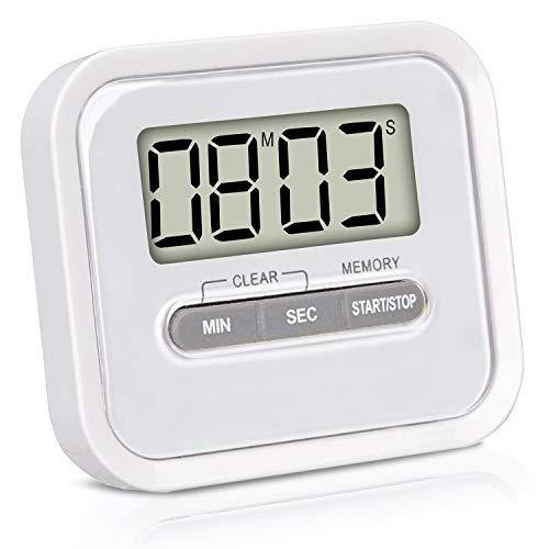 KLAGENA Timer da Cucina Digitale con Supporto Magnetico e cronometro ...