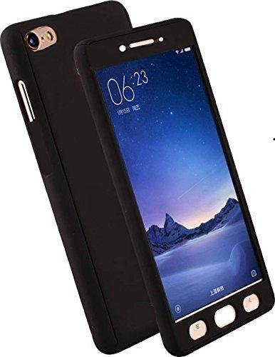360 Degree Front & Back Case Cover with Tempered Glass