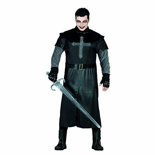 Kostüm Schwarzer Ritter Ritterkostüm Herren L 52/54 Mittelalterkostüm Männer Outfit Rittersmann Faschingskostüm Kreuzritter Mittelalterliche (Ritter Männer Kostüme)