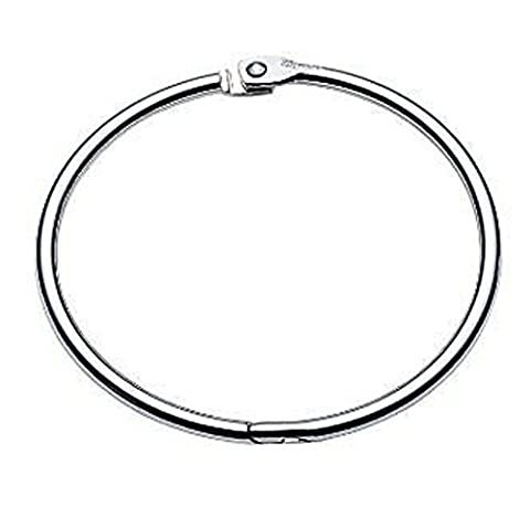 HAND ® Binding O Ring Hinged/ Book Binder Ring 3.4 Inch Diameter x3 Rings More Sizes Available