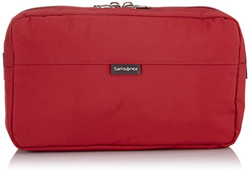 Samsonite Travel Accessor. V Waist Pack Marsupi portasoldi, Rosso (Rosso)