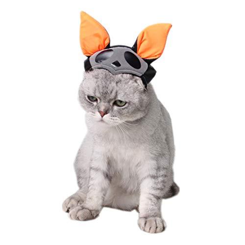 Jasbo Katzen Cute Hüte Puppy Cartoon Hut Lustige Zubehör Outdoor Kopfbedeckung -