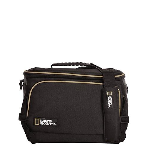 National Geographic - Tracolla Con Logo Urban Camera Nero 30X22X16 Cm