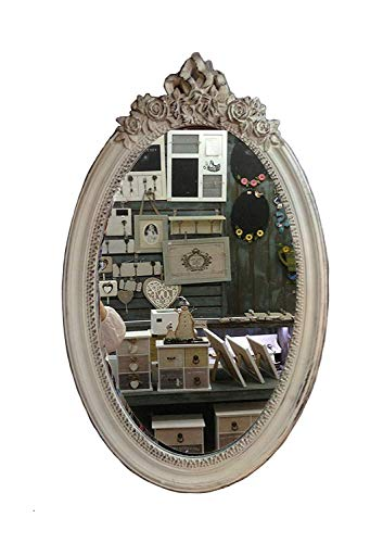 charma nter rústico madera espejo de pared 18–3Espejo Antiguo perchero Espejo Piso Espejo barroco