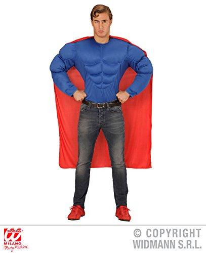 KOSTÜM - SUPER HERO - Größe 50 (M), Held Comicfigur Superheld Superhero (Helden Herren Kostüme Super)