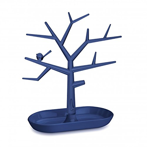 Koziol Trinket Tree, TPU, transparent Deep Samt blau